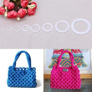 Plastic-DIY-Crochet-Ring-Circle-Hook-Craft-Tool-Accessory-for-Handbag-Car-Seat