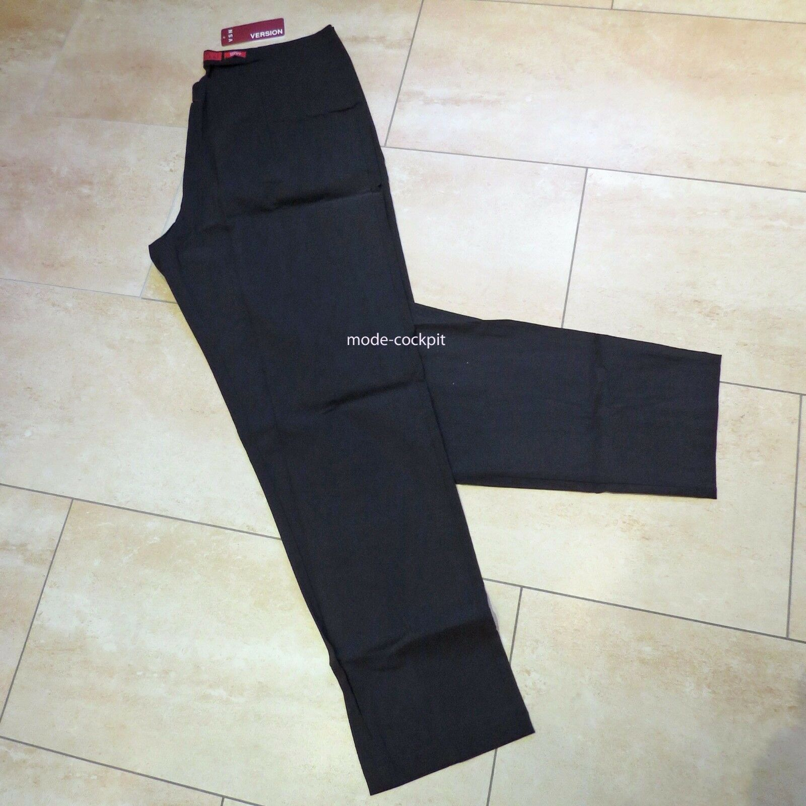 VERSION super Stretch Long Hose Modell  Mary  Viskose brown 48-50