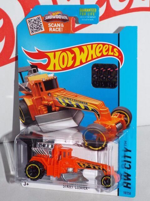 Hot Wheels 2015 Street Cleaver #10 Orange From Factory Set