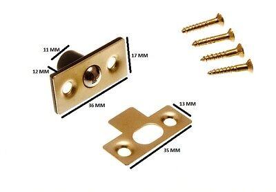 Befestigung 13mm 1.3cm 2 Stück Warmes Lob Von Kunden Zu Gewinnen Bündelset Fang RohrfÖrmig Kugel Riegel Baustoffe & Holz