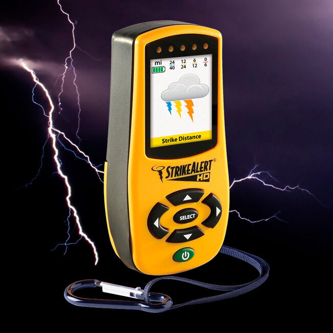 StrikeAlert HD Personal Personal Personal Handheld Storm Lightning Detector Pager  MADE in USA 94d5e0