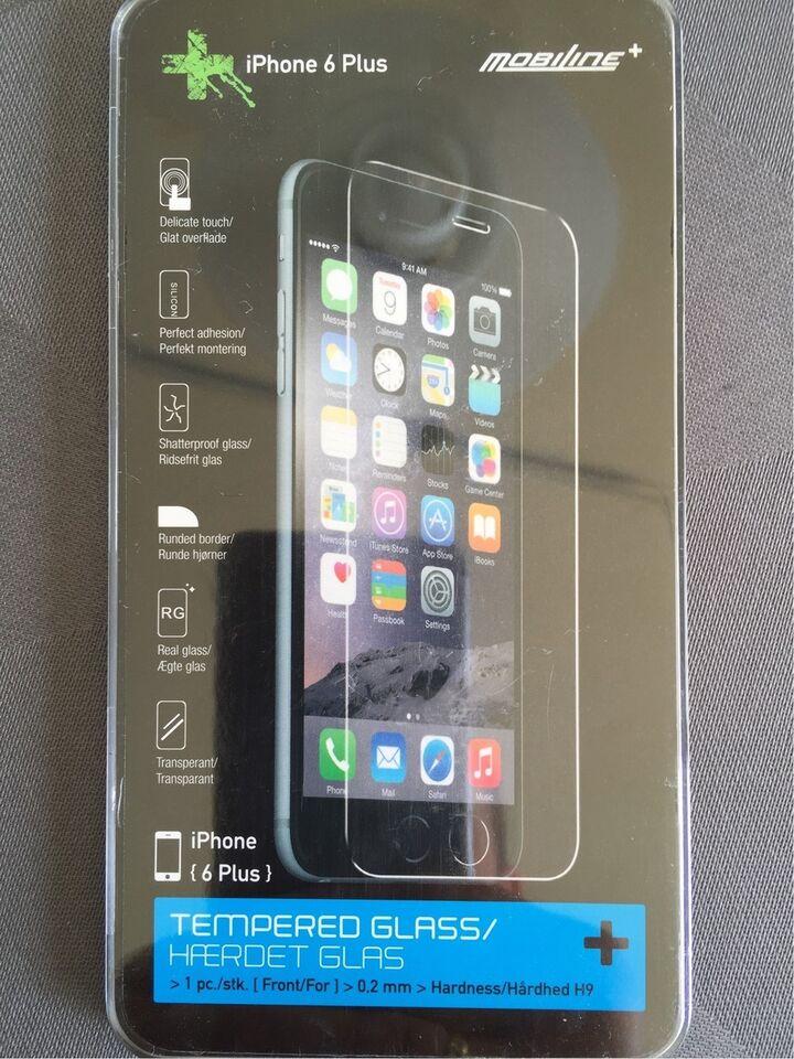 Skærmbeskyttelse, t. iPhone, 6 Plus og 7 plus