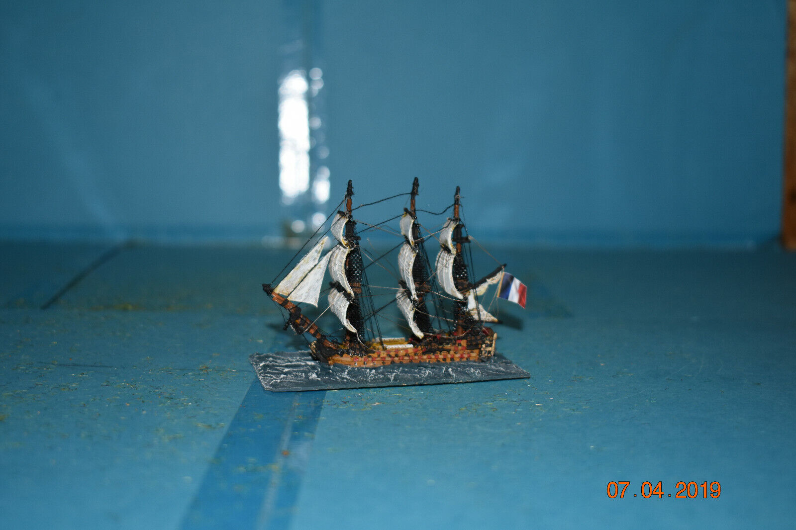 1200th scale napoleonic ships French 74 gun line