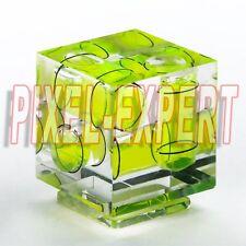 HOT SHOE BUBBLE LIVELLA 3 ASSI SLITTA FLASH PER NIKON D3100 D810 D750 D750 D610