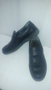 MEPHISTO-034-AIR-JET-034-Black-Leather-Men-039-s-Shoes-US-Size-8-5