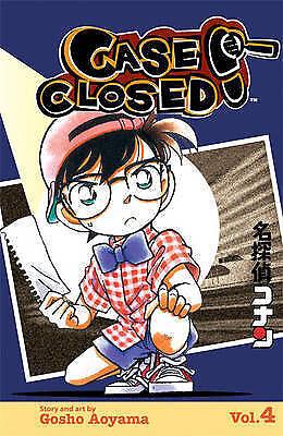 Case Closed Volume 4: Vol 4 (Manga), Aoyama, Gosho, New Book
