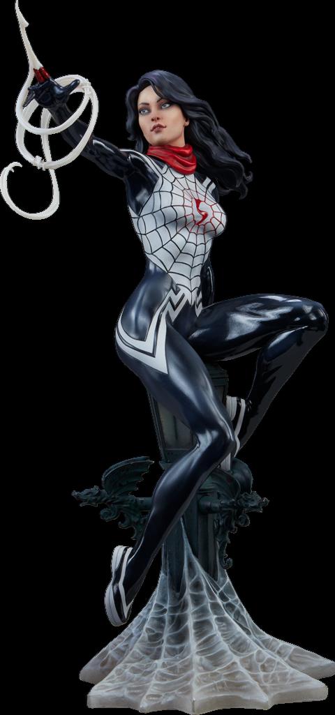 Sidemostrare Collectibles Spideruomo Marvel SETA Statua serie Mark Brookes artista
