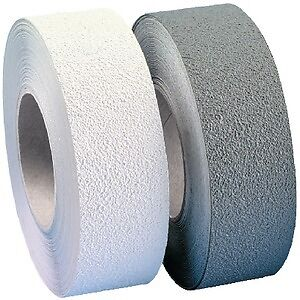 "New Textured Vinyl Traction Tape incom Re3882gr 1/"" W x 60/' L Gray"