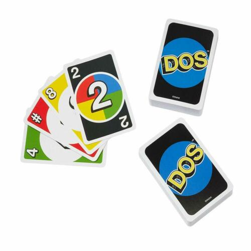 es Details about  /UNO DOS CARD GAME Children Friend Adult Family Fun Travel Party