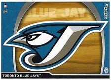 TORONTO BLUE JAYS LOGO FATHEAD TRADEABLES REMOVABLE MINI STICKER 2009 #L29