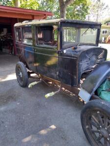 1928 Chevrolet 4 door sedan -Swap/Trade
