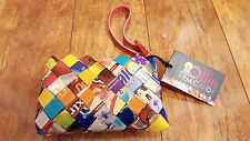 Ollin Arm Mexican Colorful Candy Wrapper Handmade Clutch Coin Purse Wallet NWT