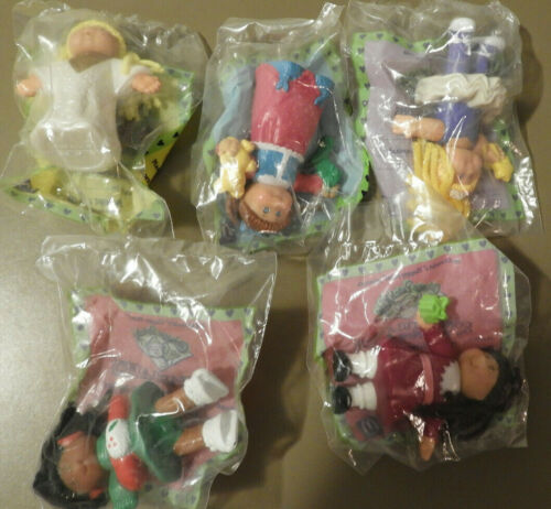 McDonald/'s Toys Complete Set of 5 Cabbage Patch Kids December 1992