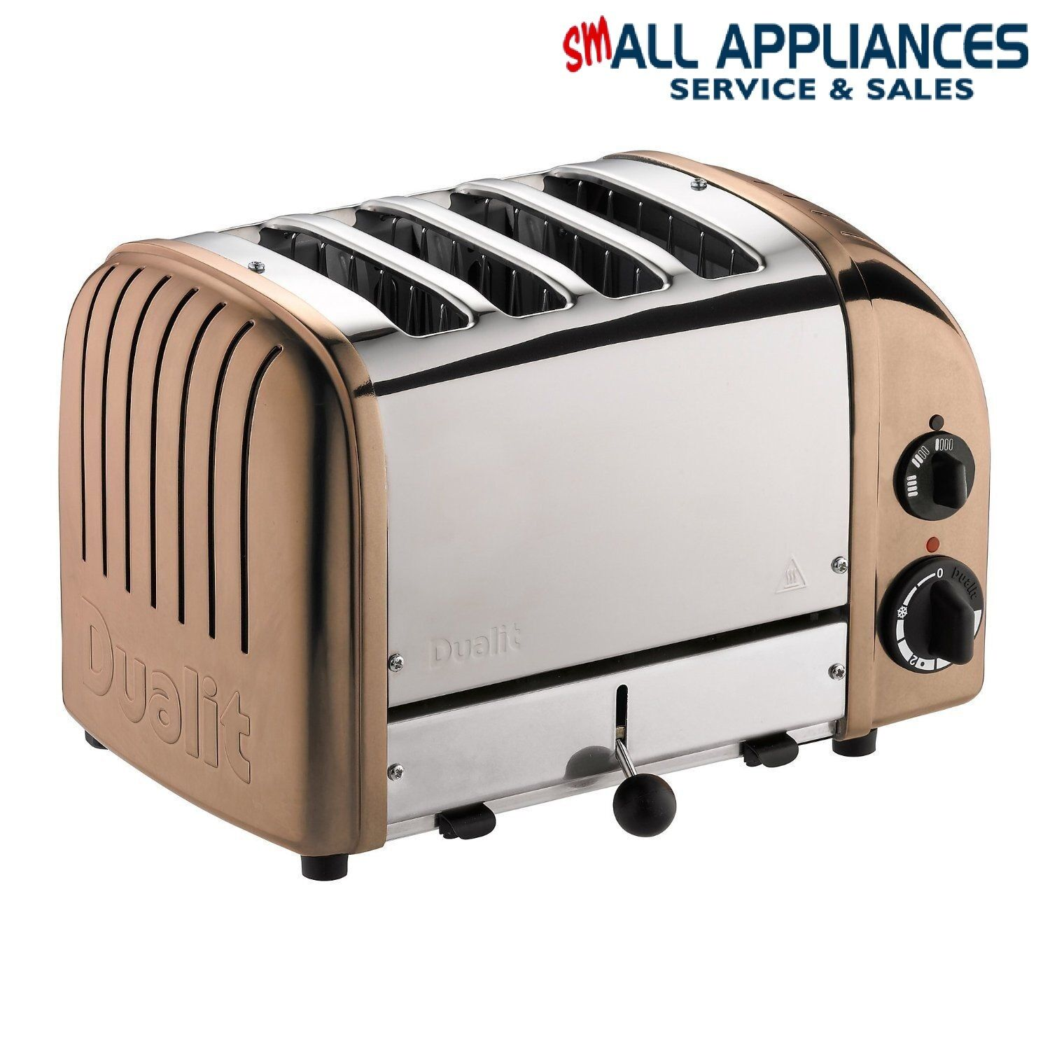 DUALIT TOASTER 4 SLICE COPPER 47450 CLASSIC WITH 5 YEAR WARRANTY IN HEIDELBERG