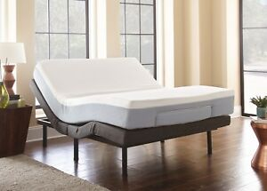 Eco Pedic Adjustable Bed And Cool Gel Mattress Combo Twin Xl Queen