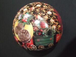 GREECE-BIG-CHRISTMAS-BALL-12-5cm-DIAMETER-adv-Papadopoulou-Biscuits-empty-tin