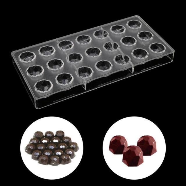 1 PC Polycarbonate DIY Diamond Shape Chocolate Mold Ice Cube Jelly Making Mold