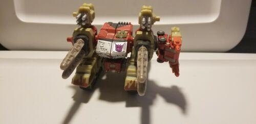 Transformers Armada Demolisher FIGURINE AVEC BLACKOUT minicon