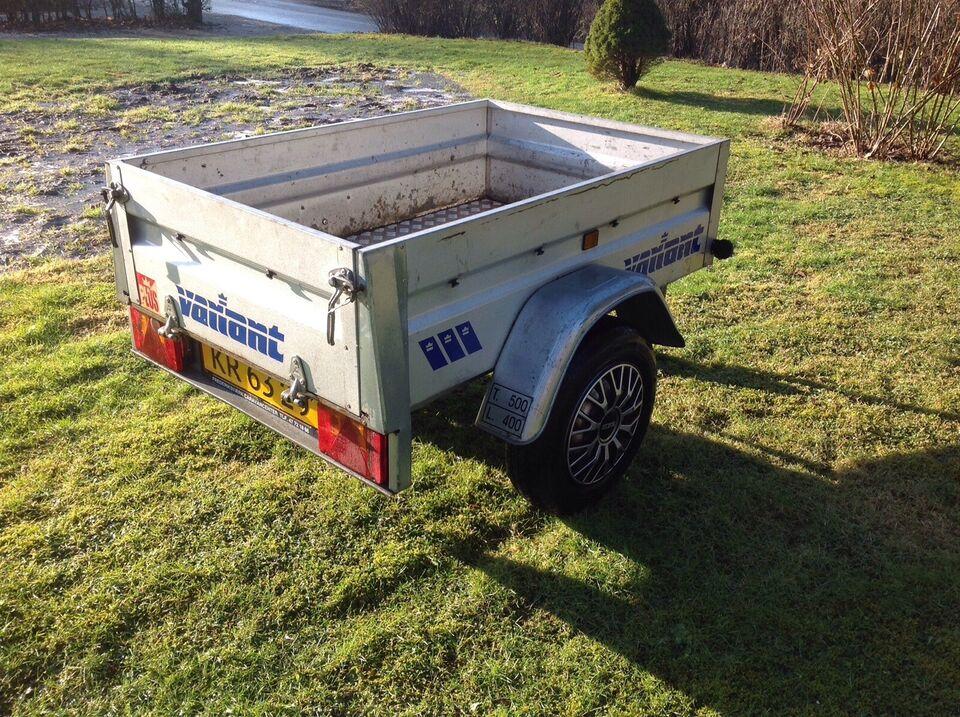 Autotrailer, Variant VA 500 K, lastevne (kg): 400