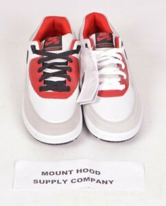 2009-NWOB-MENS-NIKE-SB-1ST-YEAR-ZOOM-AIR-VELOCE-SHOES-9-Red-White-Grey-RARE