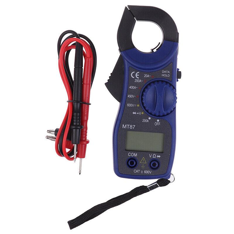 AC DC Zangenamperemeter Zangenmessgerät Multimeter Digital Zangen Stromzange