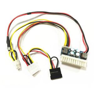 DC 12v 250w 24pin Pico ATX Switch PSU Car Mini ITX DC to DC Power Supply US