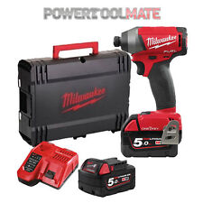 Milwaukee M18ONEID-502X One Key Fuel Brushless Impact Driver Kit c/w 2 x 5.0Ah