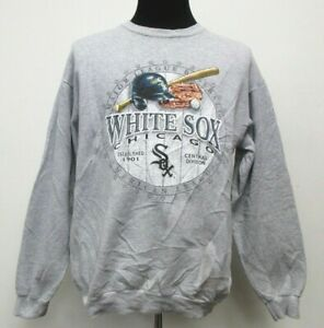 more photos 64a74 69b85 Details about CSA Chicago White Sox Crewneck Sweatshirt Men's 2XL XXL  Baseball Gray vtg 90s