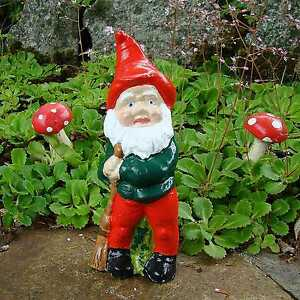 Garden Gnome ~ Lady Jane ~ Handmade by Pixieland Concrete
