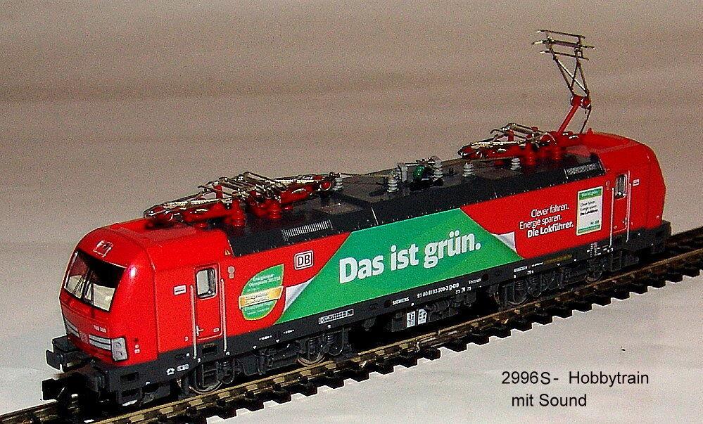 Hobbytrain 2996 S -  E-Lok BR BR BR 193 309 Vectron DB  Das ist green  Ep. VI - Sound 9a2daa