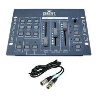 Chauvet Dj Obey-3 3 Channel Dmx-512 Led Light Controller W/ 25' Cable Dmx3p25ft on sale