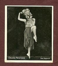 Claudia Pawlowa Der künstlerische Tanz Nr. 166 ca. 1932