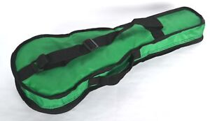 SOPRANO-UKULELE-GREEN-GIG-BAG-SOFT-CASE-BUDGET-BAG-BY-CLEARWATER
