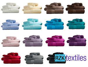 Luxury-100-Egyptian-Cotton-Towels-700-gsm-Hand-Bath-Sheet-17-Colours