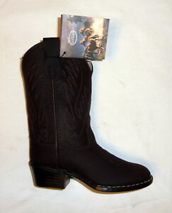da55c6292bf Old West 1151 Size 10 Child Corona Calf Leather Western Cowboy Boots ...