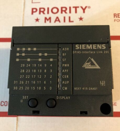 Siemens Net Link Profibus Interface 6GK1415-2AA01 6GK1-415 Used Cheap