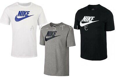 Homme Neuf Nike T Shirt Rétro Gym Sports logo Nike Haut à encolure ras du Cou Tee S M L XL | eBay