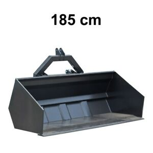 Heckschaufel Kippmulde Kippschaufel Heckkipper hydraulisch kippbar 130-200 cm
