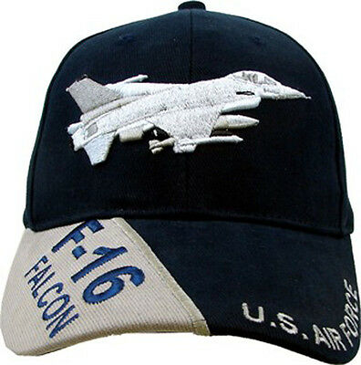F-16 Falcon Hat / U.S. Air Force - USAF Baseball Cap