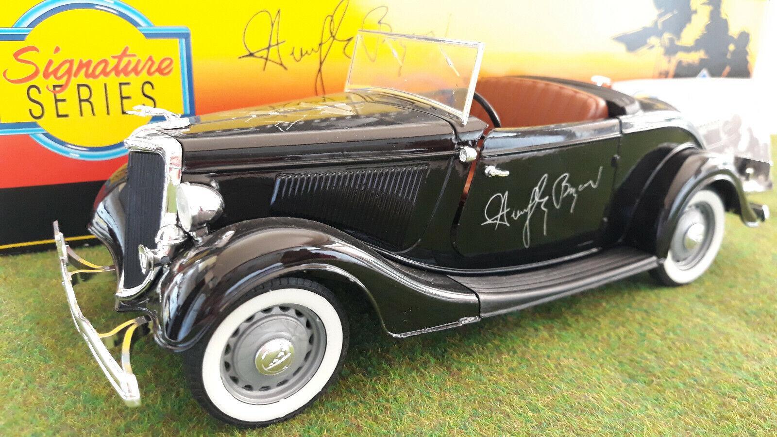 FORD  Roadster 1934  HUMPHREY BOGART cabriolet 1 18 SOLIDO 9802 voiture miniature  livraison éclair