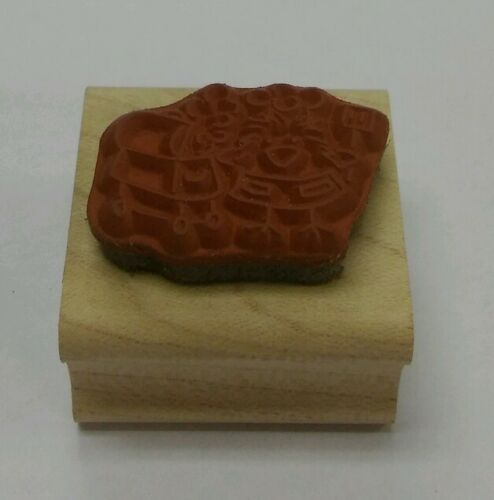 Rubber stamp Bbq Outdoor Cooking Chickie Denami