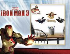Ironman 3. Multi Pack Pared Adhesivo Apliques. oficial artículo. 24 Calcomanías