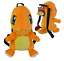 Your Choice Characters Pokemon Pikachu /& Friends Plush Backpack New with Tag