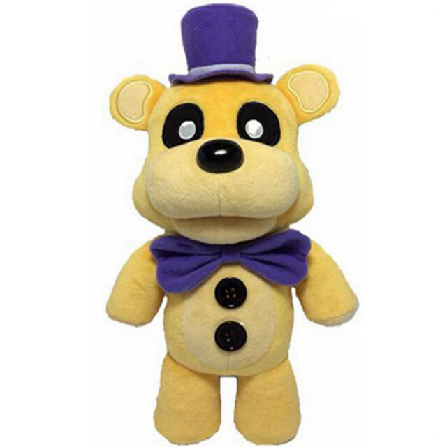 HOT WALMART Golden Freddy Plush Five Nights At Freddys Funko FNAF Toy Yellow