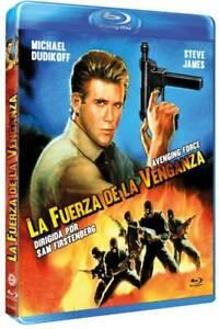 La Fuerza de la Venganza  Blu-ray REGION LIBRE.A-B-C (NUEVO PRECINTADO)