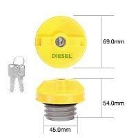 TRIDON DIESEL FUEL CAP LOCKING FOR MAZDA BRAVO B2500 4X4 UN 2.5L WLAT CRD 99-06
