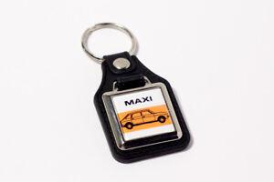 Austin-Maxi-Keyring-Leatherette-amp-Chrome-retro-British-classic-car-keyfob