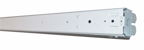 LED T8 Included 5000K 4 Orilis 8 FT 96W Surface Mount Hardwired Bay Fixture