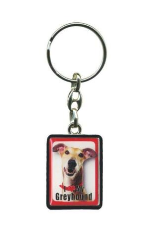 I Love My .... Good Quality Metal Dog Key Rings 21 Different Breeds