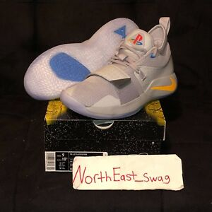 88860bc82e06 Nike Paul George PG 2.5 Sony Playstation Wolf Grey Red Yellow Light ...